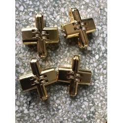 bản lề chữ thập ZH bắt âm - ngành gỗ -Bản lề chữ thập 13 x 45 x 8 5mm bộ 10 cái