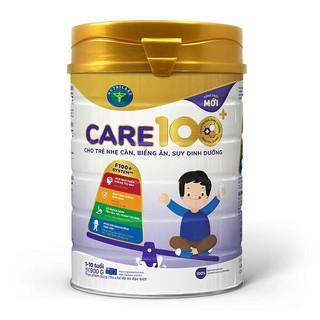 Sữa bột Care 100+ hộp 900g (cho trẻ từ 1-10 tuổi) date 12 2022 - 8936142670103 thumbnail