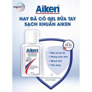 Gel rửa tay kháng khuẩn aiken 60ml -nhỏ gọn tiện lợi- - 9861519711 thumbnail