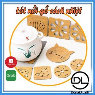 Tấm lót nồi bằng gỗ tre nhiều hình Donali Store2 - 4264_47305783 thumbnail