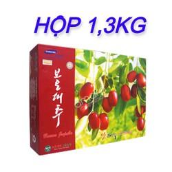 Hộp táo đỏ sấy Hàn Quốc 1,3kg - HSD 7/2022