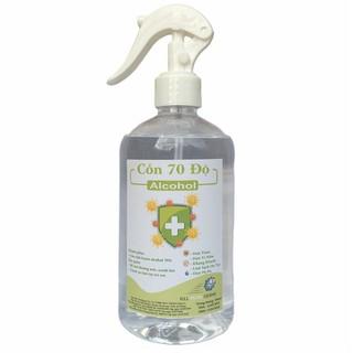 [500ml] Cồn y tế 70 độ chuẩn dùng sát khuẩn, rửa tay - cồn 70 độ - 500ml thumbnail