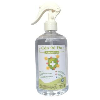 [500ml] Cồn y tế 96 độ chuẩn dùng sát khuẩn, rửa tay - cồn 96 độ - 500ml thumbnail