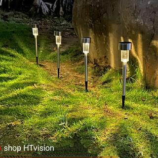 Đèn cắm đất năng lượng mặt trời trang trí sân vườn tự đổi màu chất liệu bọc thép không gỉ giúp làm đẹp không gian vườn,quán cà phê, ,,, - nlmt đèn cắm đất thumbnail