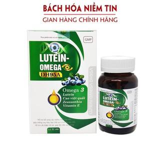 Viên uống bổ mắt LUTEIN O.MEGA DH95A - ngăn ngừa thoái hóa võng mạc, cận thị, loạn thị và đục thủy tinh thể - hộp 30 viên - lutein thumbnail