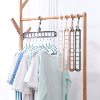 Móc treo quần áo - Móc treo quần áo 9 lỗ đa năng tiện lợi combo 3 - Móc treo quần áo - Móc treo quần áo 9 lỗ đa n thumbnail