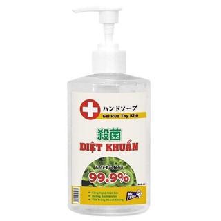 Nước rửa tay khô diệt khuẩn Mrfresh 500ml cao cấp - 6125827363 thumbnail