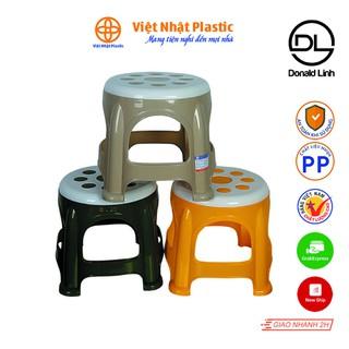 Ghế đẩu tròn hoa Việt Nhật Plastic 2065 - 2065 thumbnail