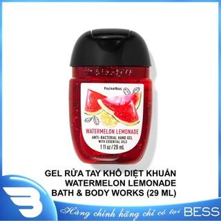 [Chính hãng] GEL RỬA TAY KHÔ WATERMELON LEMONADE BATH & BODY WORKS (29 ML) - 0667554150584 thumbnail