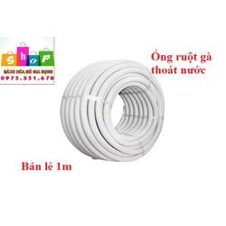 – SHOP NGHĨA TÌNH Bán lẻ-Ống ruột gà thoát nước thải máy lạnh điều hòa 1m – ống nhựa nước thải điều hòa
