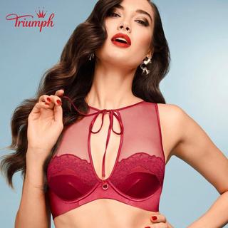 Áo lót nữ Triumph 8269 mút rời, có gọng, cổ yếm xẻ lưng sexy quyến rũ màu đỏ - TR.8269. thumbnail