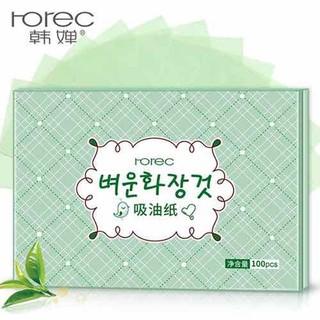 Một gói 100 tờ giấy thấm dầu Rorec của Bioaqua - giaythamdau thumbnail