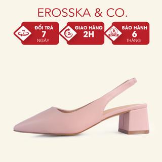 Giày cao gót Erosska bít mũi kiểu dáng Hàn Quốc cao 5cm _ CL015 - CL015 thumbnail