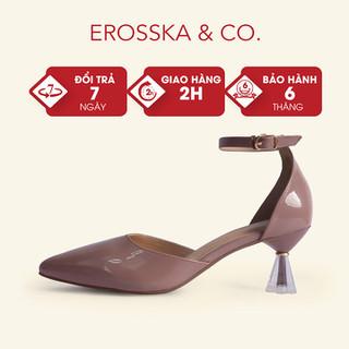Giày cao gót Erosska bít mũi phối dây mảnh gót mica cao 6cm - CL012 - CL012 thumbnail