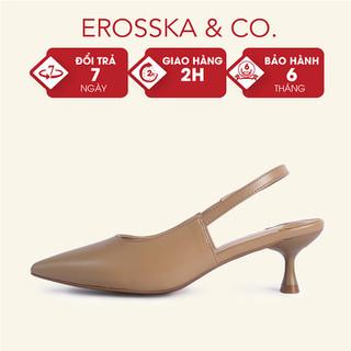 Giày cao gót Erosska mũi nhọn dáng công sở cao 5cm - CL013 - CL013 thumbnail