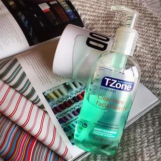 GEL RỬA MẶT TRÀM TRÀ CHO DA MỤN T-ZONE CLEAR PORE FACIAL WASH 200ML CHÍNH HÃNG - 9248 thumbnail