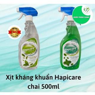 DUNG DỊCH RỬA TAY KHÁNG KHUẨN HAPICARE CHAI 500ML - nước rửa tay thumbnail
