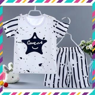 Đồ bộ xuất hàn cho bé, quần áo trẻ em cho bé trai, bé gái thun cotton 4 chiều, co giãn - NNA100000 thumbnail