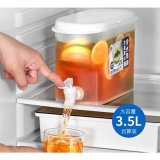 Bình nước tủ lạnh 3,5 lít có vòi chuyên để tủ lạnh siêu tiện lợi nhựa an toàn - 1525_47862778 thumbnail