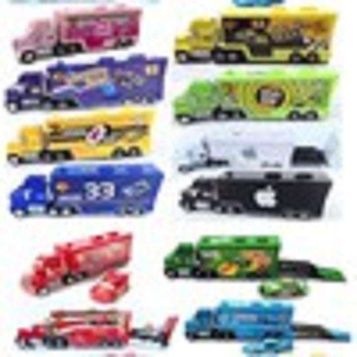 Xe Tải Lightning Mc Queen Disney Pixar Cars các loại đồ chơi trẻ em - adfghjkl 6