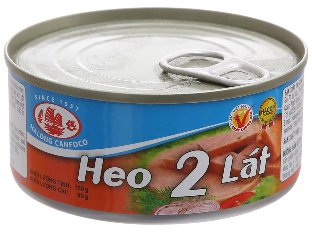 Thịt heo 2 lát Hạ Long 150gr - HSD 2024
