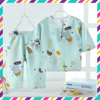 Đồ bộ tay lửng cho bé, quần áo trẻ em cho bé trai, bé gái - KTT thumbnail