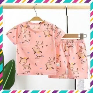 Đồ bộ cao cấp xuất hàn cho bé, quần áo trẻ em cho bé trai, bé gái thun cotton 4 chiều, co giãn - CCVB thumbnail