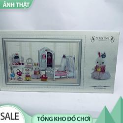 ĐỒ CHƠI TRẺ EM - Nhà Thỏ Hồng Bay Dream AV0414- Phát Triển