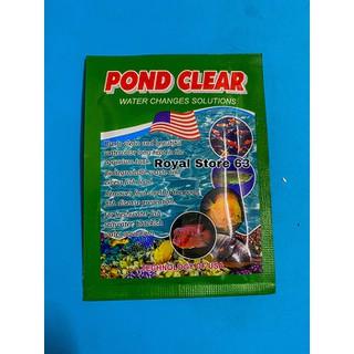 Pond Clear men vi sinh cho bể cá cảnh An Lộc Phát gói 10g - 4241_47909637 thumbnail