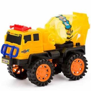 Xe trộn bê tông xoay bồn tay quay (308-15) - xe bê tông xoay thumbnail