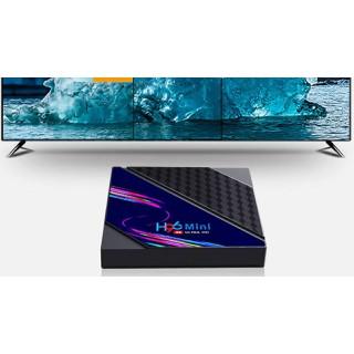 Android tv box xemYouTube 4K 3D video Hệ thống Android 10.0 H96 mini V8 smart tv box RAM 2G ROM 16G - 45545 thumbnail