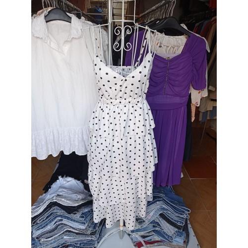 Váy Dây chấm bi 2hand