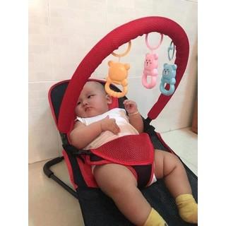 Ghế nhún cho bé - Ghế rung đa năng cho bé - Ghế rung có đồ chơi cho bé - GRCB thumbnail