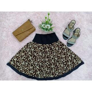 Váy thun xòe hoa lưng rời-Shop Mộc-Mã MV12 - MV12 thumbnail
