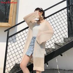 Áo cadigan, áo khoác mỏng Haint Boutique dáng dài form rộng xinh Ak37
