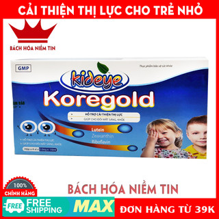 Siro sáng mắt cho bé KID EYE Kore Gold - 100% thảo dược - giúp cải thiện thị lực, mắt sáng khỏe - Hộp 20 ống 10ml - kideyekoregold thumbnail