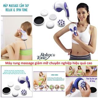 Máy rung giảm mỡ bụng hiệu quả massage toàn thân hàng chính hãng loại tốt kèm 5 đầu rung - v26 thumbnail