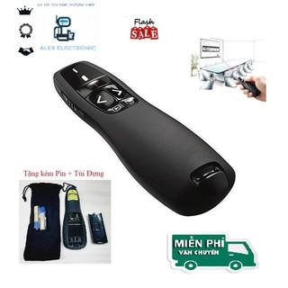 Bút Chỉ Trình Chiếu Slide PowerPoint Laser 2.4G model R400 Bút Chỉ Máy Chiếu Nhạy, Độ Bền Cao- Hàng tốt Tặng kèm Pin - sp411 thumbnail