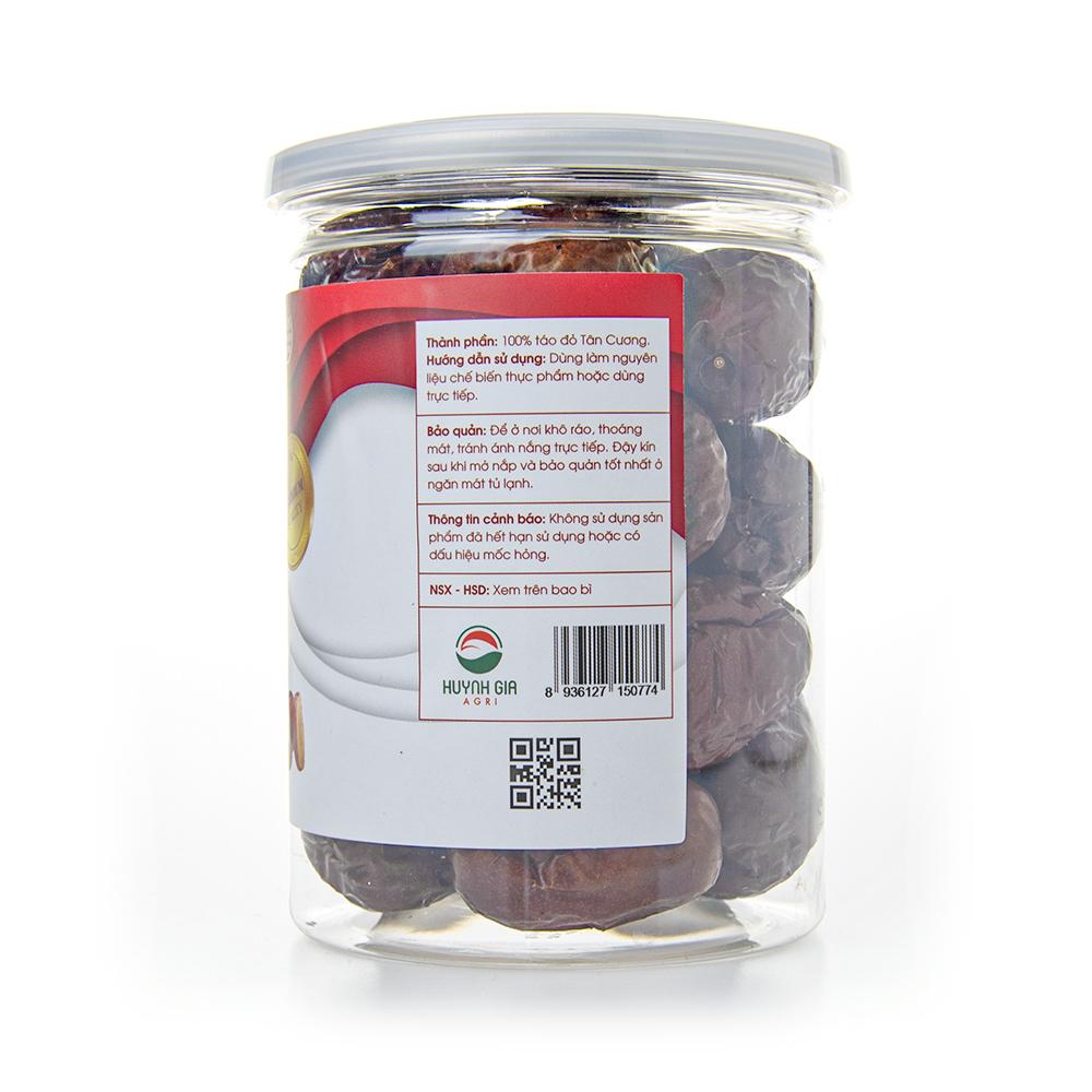 Hình ảnh [Hạt Nhập Khẩu] Táo Đỏ Tân Cương Loại 1 Nhập Khẩu Cao Cấp Fami Nuts Hủ Nắp Nhôm 150g - FAMINUTS [HSD: 9 Tháng]