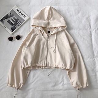 Áo khoác dù nữ 2 lớp kiểu dáng croptop siêu phẩm - TP.P1351 thumbnail