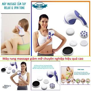 Máy rung massage giảm mỡ bụng chống đau mỏi cơ thư giãn thoải mái tại nhà kèm 5 đầu massage mẫu mới siêu khỏe - v29 thumbnail