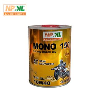 Dầu nhớt xe gắn máy 4T - MONO 150 - API SJ SAE 10W40 - Lon 0.8 1 Lít - MONO 150 thumbnail
