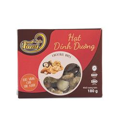 [HẠN SỬ DỤNG 12 THÁNG] Hạt Dinh Dưỡng Mix 4 Loại Hạt Điều, Hạnh Nhân, Macca, Óc Chó Thơm Ngon Hạt Loại 1 Chất Lượng Hộp 200G - Fami Nuts