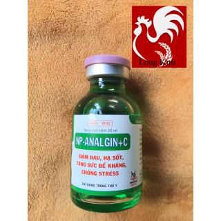 NP-Analgin C 20ml hạ sốt, tăng đề kháng, chống stress cho gà đá, heo, trâu, bò, chó mèo - sp52 thumbnail
