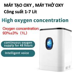 Máy tạo Oxy Máy thở Oxy Smart Pro Công Suất 1-7L / phút Màn hình cảm ứng Điều khiển từ xa - Máy điều hòa oxy có thể điều chỉnh không khí.