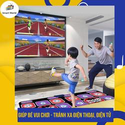 [Combo adapter HDMI] Thảm nhảy Audition kết nối HDMI với tivi, thảm nhảy pump, thảm chơi game tập thể dục tại nhà, thảm Nhảy Kèm Tay Cầm Điều Khiển Từ Xa có sẵn 200 trò chơi kèm 2 tay cầm chơi game