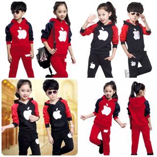 [SALE SỐC] Set bộ quần áo trẻ em Thu đông 2021 dành cho cả bé trai và bé gái mẫu Apple. Chất nỉ da cá dày dặn, ấm áp,màu sắc bắt mắt, thiết kế hot trend - Set Apple thumbnail