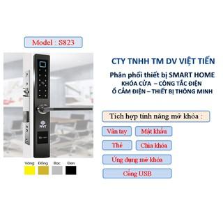 Khoá chống trộm NVT S823 - Mode New 2021 - khoá vân tay , khoá chống trộm thumbnail