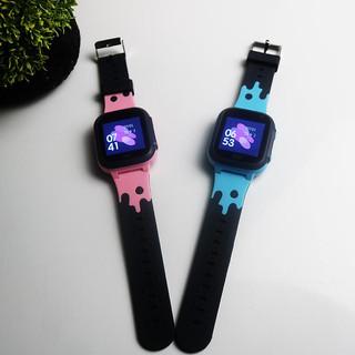 Bảo hành 1 đổi 1- Combo 2 chiếc đồng hồ thông minh theo dõi trẻ em có Định vị từ xa, SOS, Camera, Cảnh báo nghe gọi 2 Chiều chống nước - hàng nhập khẩu - GY002BN 2