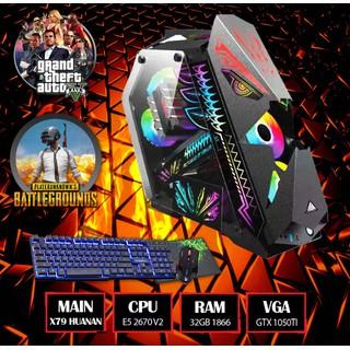 Bộ Máy X79 E5 2670 V2 Chuyên Đồ Hoạ - Siêu ngầu - Chiến Full Game - X79 + E5 2670 V2 + GTX 1050Ti thumbnail